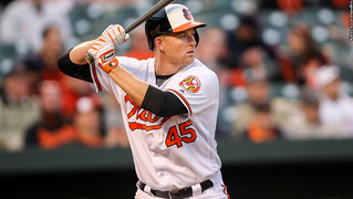 Nella foto Mark Trumbo ( photo da sportsjournal.ca)