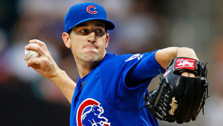 Nella foto Kyle Hendricks ( AP Photo/Kathy Willens)
