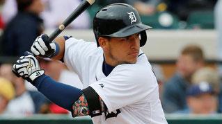 Nella foto Jose Iglesias, shortstop dei Tigers (foto da MLB.com)