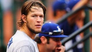 Nell'immagine il pitcher dei Dodgers Klayton Kershaw (Foto da aol.com)
