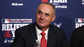 Nella foto il Commissioner MLB, Rob Manfred