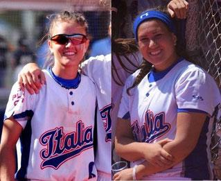 Nella foto a sinistra Chiara Bassi a destra Giorgia Migliorini