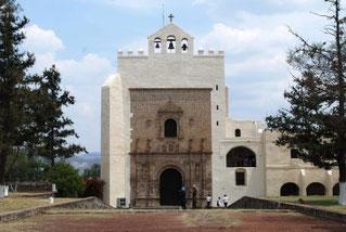 Nella foto l'ex convento di San Agustín di Acolman in Messico