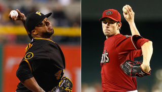 Nella foto Francisco Liriano (left) and Brandon McCarthy (right) (USA TODAY Sports/Getty)
