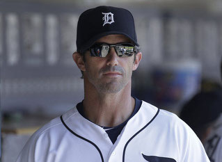 Nella foto Brad Ausmus, manager dei Tigers (AP Photo)