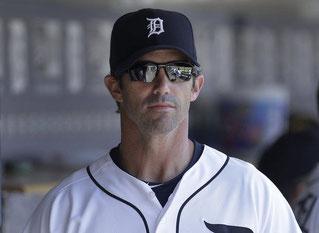 Nella foto Brad Ausmus, manager dei Tigers (AP Photo)