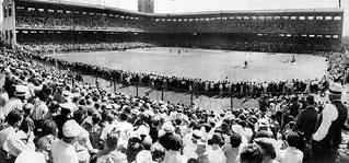 Nella foto il Wrigley Field (Chicago) in una foto del 17 Luglio 1937