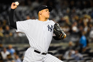 Nella foto il rilievo Yankee Dellin Betances (Alex Goodlett/Getty Images North America)