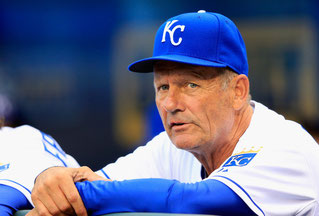 Nella foto l'Hall of Fame George Brett