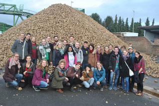 IAAS at a sugar beet factory.