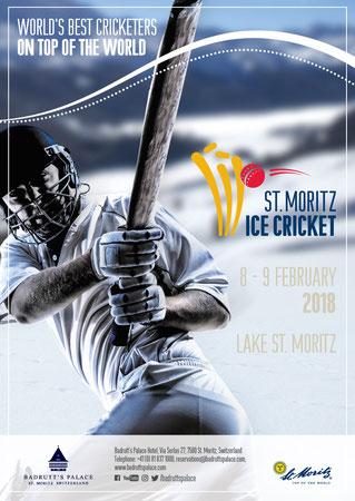 St Moritz ICE CRICKET flyer