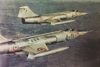 L'F-104 Starfighter, considerato il caccia più longevo dell'A.M.I.