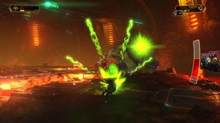 """Per Spezialwaffe Aliens in Pixel zerbröseln: """"Ratchet & Clank"""""""