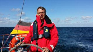 Hartmut, Skipper