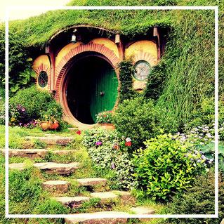 Auenland, Hobbingen, Hobbiton, Matamata, Bilbo, Frodo Beutlin