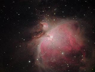 Foto: Werner Stupka, M42, Emissionsnebel