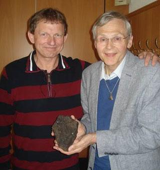 Pavel Spurny und Dieter Heinlein in Vohenstrauss. Foto: Heinlein