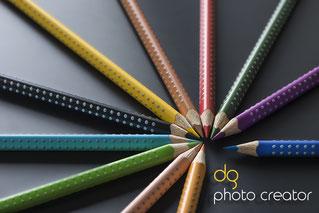 farbstifte produktfotografie zürich