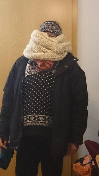 Gut gerüstet für die nordische Islandwinterkälte!
