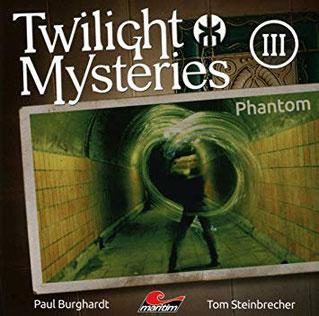 CD-Cover Twilight Mysteries Phantom