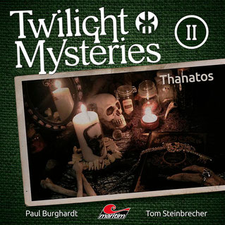 CD-Cover Twilight Mysteries Thanatos