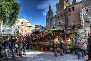 Ярмарка Святой Люсии в Барселоне