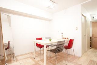▲椅子は、calligaris(イタリア製)を使用