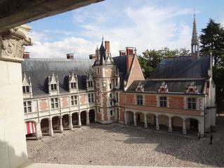 Château de Blois. Facades style gothique tardif. Source : Laure Trannoy.2016