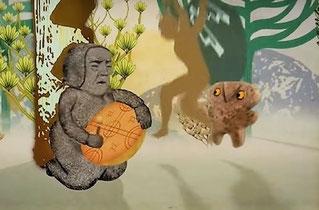 Imagen del vídeo animado sobre cultura Mapuche. Foto (CC): Servindi