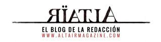 Cabecera del blog de la nueva revista /©Altaïr