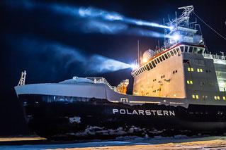 El rompehielos alemán Polarstern, que transporta a la expedición MOSAIC. / Foto: Instituto Alfred Wegener