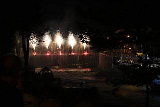Feuerwerk zum Abschied - danke Sort für eine großartige WM! Foto: Rüdiger Hauser