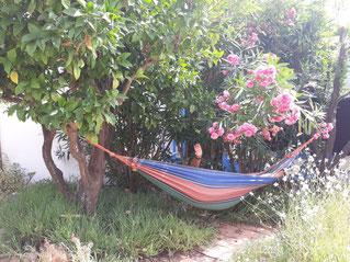 Entspannung, ausruhen, Ruhe, Hängematte, Sonne, Algarve, Portugal, spirituelle Urlaubsreise
