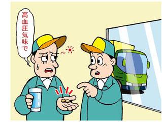 高血圧等と交通事故