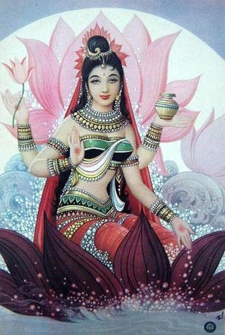 la déésse Lakshmi