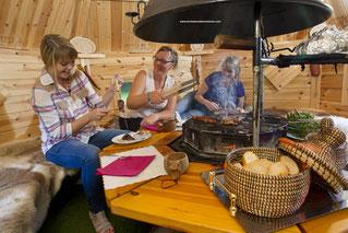 le kota grill finlandais en Baie de Somme