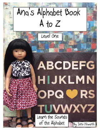 Ana's Alphabet Book A to Z live on Amazon