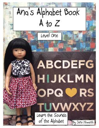 Ana's Alphabet Book A to Z live on Amazon