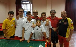 Gli atleti messinesi presenti al Master Sicilia 2016