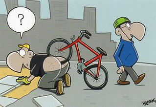 (c) by Oli Hilbring; eine Postkarte von cartoonkaufhaus.de