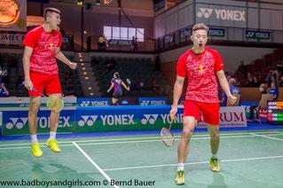 Chai/Hong stehen im Viertelfinale (Bild: Bernd Bauer)