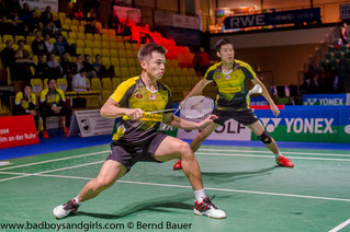 Goh/Tan spielen um Olympia-Gold (Bild: Bernd Bauer)