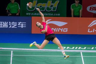 Carolina Marin will ins Endspiel (Bild: Bernd Bauer)