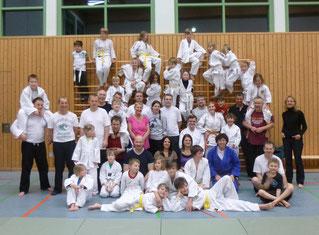 Mutter-Vater-Kind-Judo 2013