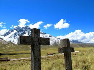 ein Friedhof ganz nah am Himmel....