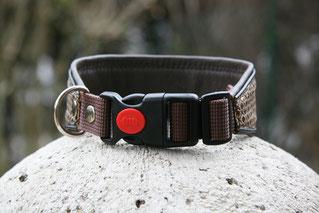 Halsband mit Sicherheitsklickverschluss Hund