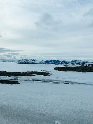 Ein zugefrorener See - Es war wunderschön