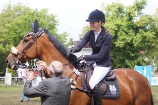 Ivana Lesemann führt die Rangliste der Jungen Reiter an. Foto: Alpha-Report