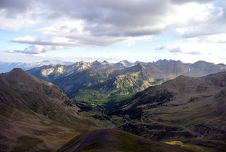 Ausblick vom Cime de la Bonette