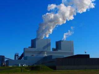 Kraftwerk-Architektur in Emshaven
